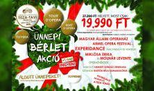 Természet Operaháza Tisza-tavi Fesztivál 2018. /  Karácsonyi Fesztiválbérlet