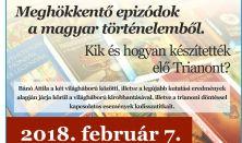 Bánó Attila író előadása: Epizódok a magyar történelemből
