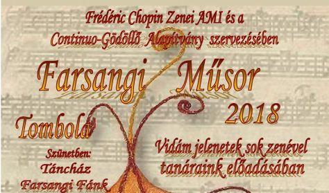 F. Chopin Zenei AMI tanárainak Farsangi Műsora - zenés, táncos színpadi előadás