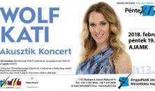PénteK13 - Wolf Kati – Akusztik Koncert