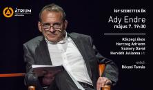 Így szerettek ők – Ady Endre / felolvasószínház Nyáry Krisztián könyve nyomán