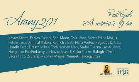 Arany 201 - Házigazda a Kaláka együttes