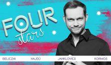 FOUR STARS - Beliczai, Hajdú, Janklovics, Kormos, vendég: Ács Fruzsina