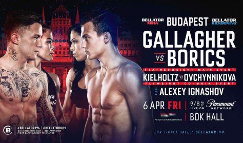 BELLATOR BUDAPEST 2018