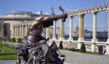 A főváros ékszerdoboza – séta a Várkert Bazárban
