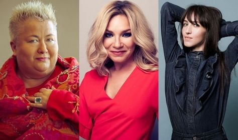 Falusi Mariann–Szűcs Gabi–Váczi Eszter koncertje / Pop, Swing & Soul