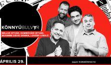 Könnyűbulvár - Bellus István, Dombóvári István, Musimbe Dávid Dennis, műsorvezető: Lovász László