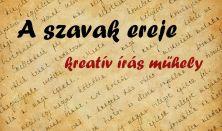 A szavak ereje - kreatív írás műhely