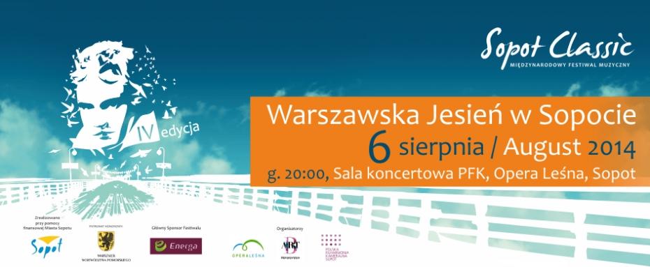 IV Festiwal Sopot Classic - Warszawska Jesień w Sopocie