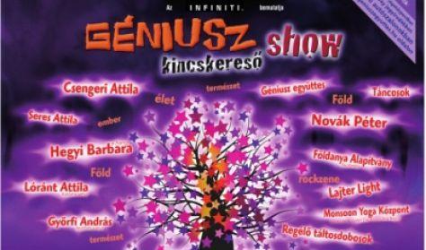 GÉNIUSZ kincskereső show