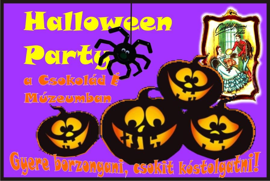 Halloween Party a Csokoládé Múzeumban