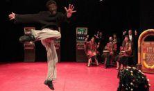 M Stúdió Mozgásszínház: Othello és hőn szeretett Desdemonája