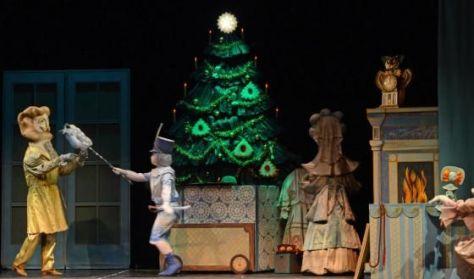 Csajkovszkij: A diótörő színjáték bábokkal