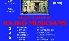Rajkó Zenészek, Brahms, Mozart, Bach, Liszt, Prímás: Danyi Lőrincz, Km. Kuti Sándor -cimbalom
