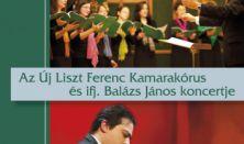 Az Új Liszt Ferenc kórus koncertje közreműködik Balázs János Junior Prima díjas zongoraművész