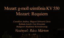 Dohnányi Zenekar, Mozart: Requiem, g-moll szimfónia, Akadémiai Kórustársaság, Vez: Rácz Márton,