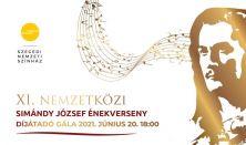 Simándy József Nemzetközi Énekverseny Díjkiosztó Gálakoncert