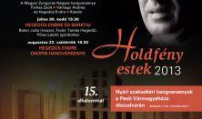 Holdfény Estek, Rossini, ArsNovaSacra Énekegyüttes, Hegedűs Katalin, Hegedűs Endre,  V. Antal Mátyás