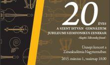 Szent István Gimnázium Jubileumi Szimfonikus Zenekar, Dvorak, Grieg,  Liszt, Vez: Ménesi Gergely