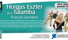 Horgas Eszter és a Talamba – Francia szerelem - Z13 koncertek