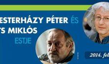 Esterházy Péter felolvasóestje -beszélgetőtárs: Szüts Miklós festő