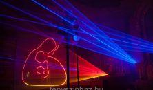 Fényszínház: Jelenések / XXI. századi templomi lézerfény koncert!