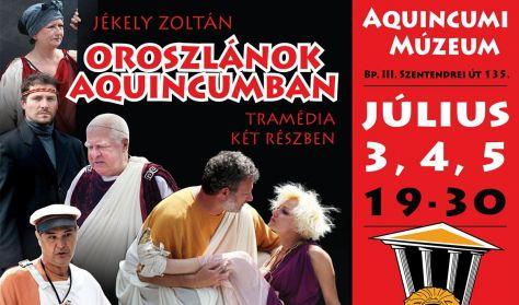 Jékely Zoltán Oroszlánok Aquincumban