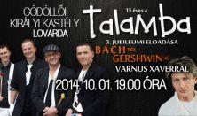 Bach-tól Gershwin-ig, a Talamba Ütőegyüttes és Varnus Xaver komolyzenei hangversenye