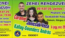Alapítványi Zenei Rendezvény / Caramel, Kállay-Sanders András, Janicsák Veca
