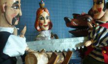 BABSZEM JANKÓ vásári kesztyűsbáb-játék élőzenével
