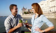 Hajós városnézés koktéllal vagy sörrel a Dunán/Cocktail&Beer Cruise