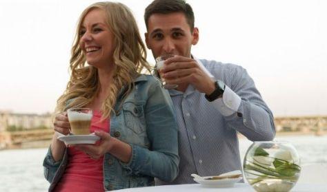 Kávézással egybekötött sétahajózás a Dunán