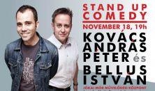 Stand up comedy: Kovács András Péter és Bellus István estje