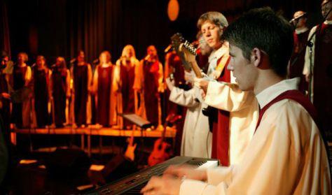 A Lumen Christi Gospellkórus hangversenye