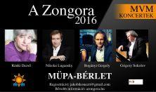 A Zongora - MVM Koncertek, MÜPA-bérlet: Ránki, Szokolov, Lugansky, Bogányi