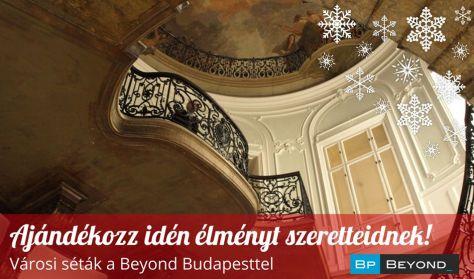 Beyond Budapest: Ajándékutalvány 4 fő részére