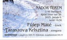 Schubert: Winterreise - Fülep Máté