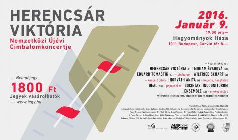 Herencsár Viktória Nemzetközi Újévi Cimbalomkoncertje