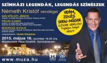 Színházi legendák, legendás színészek - prózai színpadi előadás