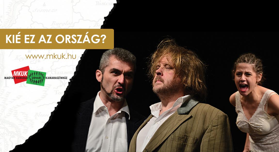 Udvari Kamaraszínház: Kié ez az ország?