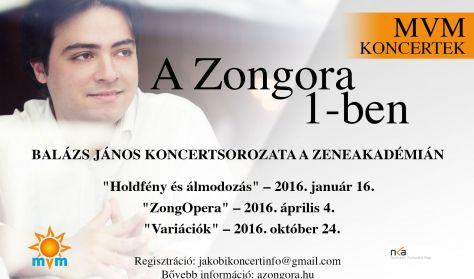 """Balázs János - """"A Zongora 1-ben"""" 3. - Variációk"""