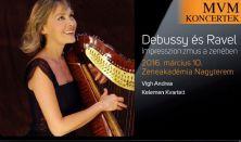 Kelemen Kvartett, Vigh Andrea, Debussy, Ravel,  Remekművek 3 tételben 2.