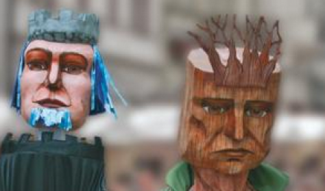 A kékszakállú herceg vára/A fából faragott királyfi