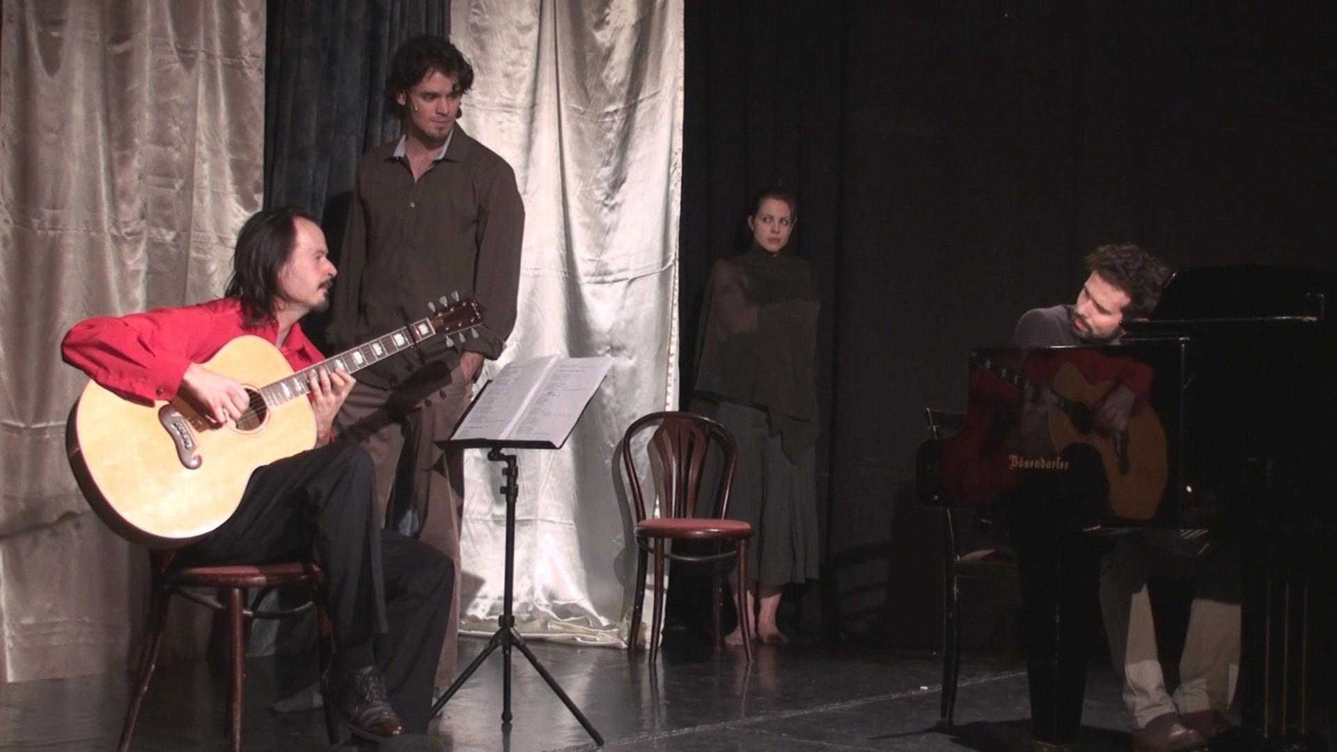 VÁLASZÚTON - színházi előadás Ady Endre és Radnóti Miklós verseiből (Medve Színpad)