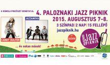 4. Paloznaki Jazz Piknik-2 napos bérlet (péntek-szombat)