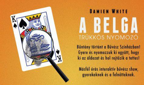 Damien White - A Belga: Trükkös nyomozó