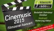 Cinemusic 2015 Ráadás, Budafoki Dohnányi Zenekar, Vez. Hollerung Gábor