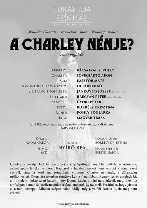 A CHARLEY NÉNJE?