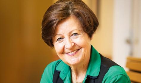 Prof. Dr. Bagdy Emőke előadása Sopronban