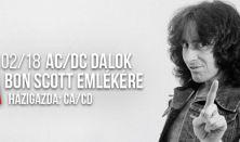 AC/DC dalok Bon Scott emlékére